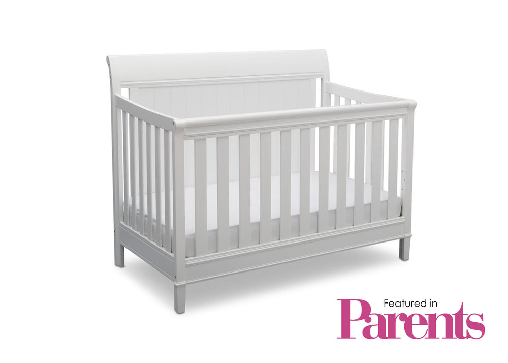 Delta Children Bianca (130) New Haven 4-in-1 Crib, With Seal, d7d