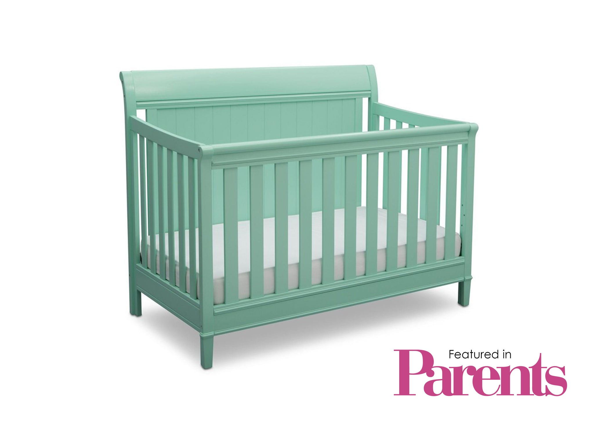Delta Children Aqua (347) New Haven 4-in-1 Crib, With Seal, e7e
