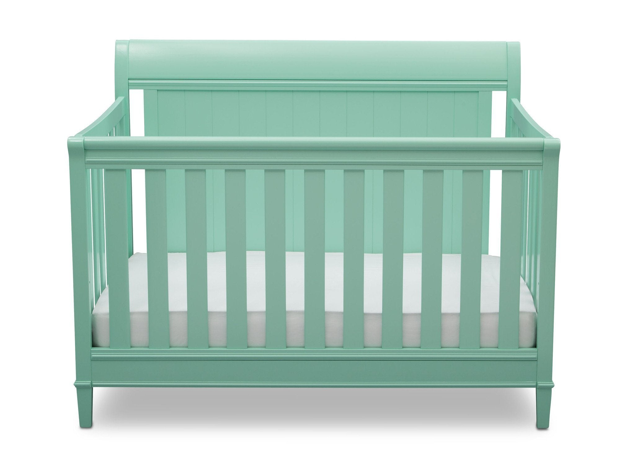 Delta Children Aqua (347) New Haven 4-in-1 Crib, Front View, e2e