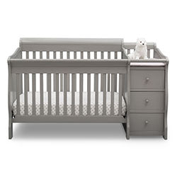 Princeton Junction Convertible Crib 'N' Changer (Grey)