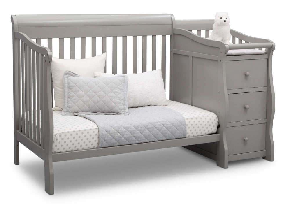 Princeton Junction Convertible Crib N Changer Grey (026) Daybed a5a