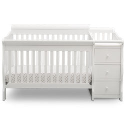 Princeton Junction Convertible Crib 'N' Changer (Bianca)