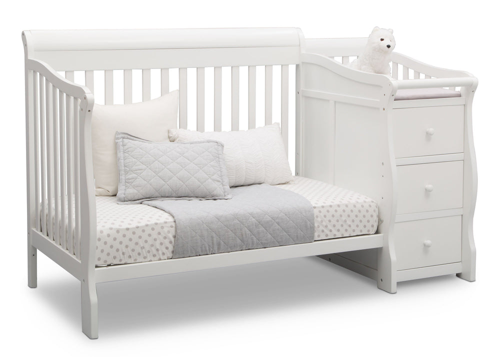 Princeton Junction Convertible Crib N Changer Bianca (130) Daybed b5b