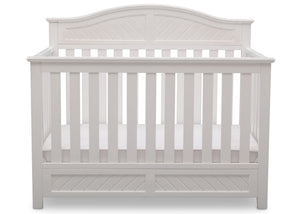 Delta Children Bianca (130) Bennington Elite Curved 4-in-1 Crib Front View a2a