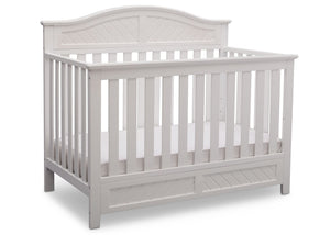Delta Children Bianca (130) Bennington Elite Curved 4-in-1 Crib Side View a3a