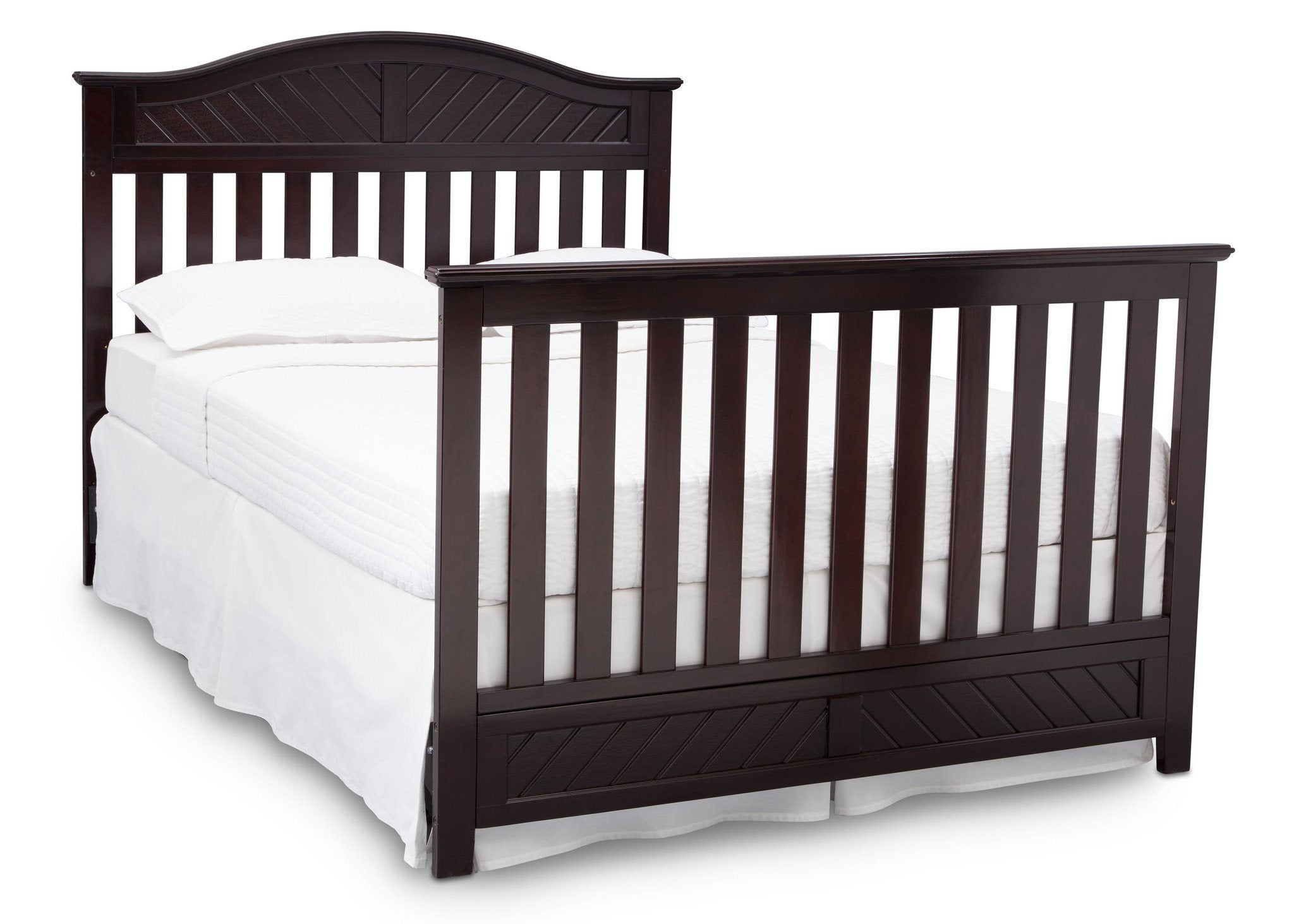 Bennington Elite Curved 4 In 1 Crib Delta Children