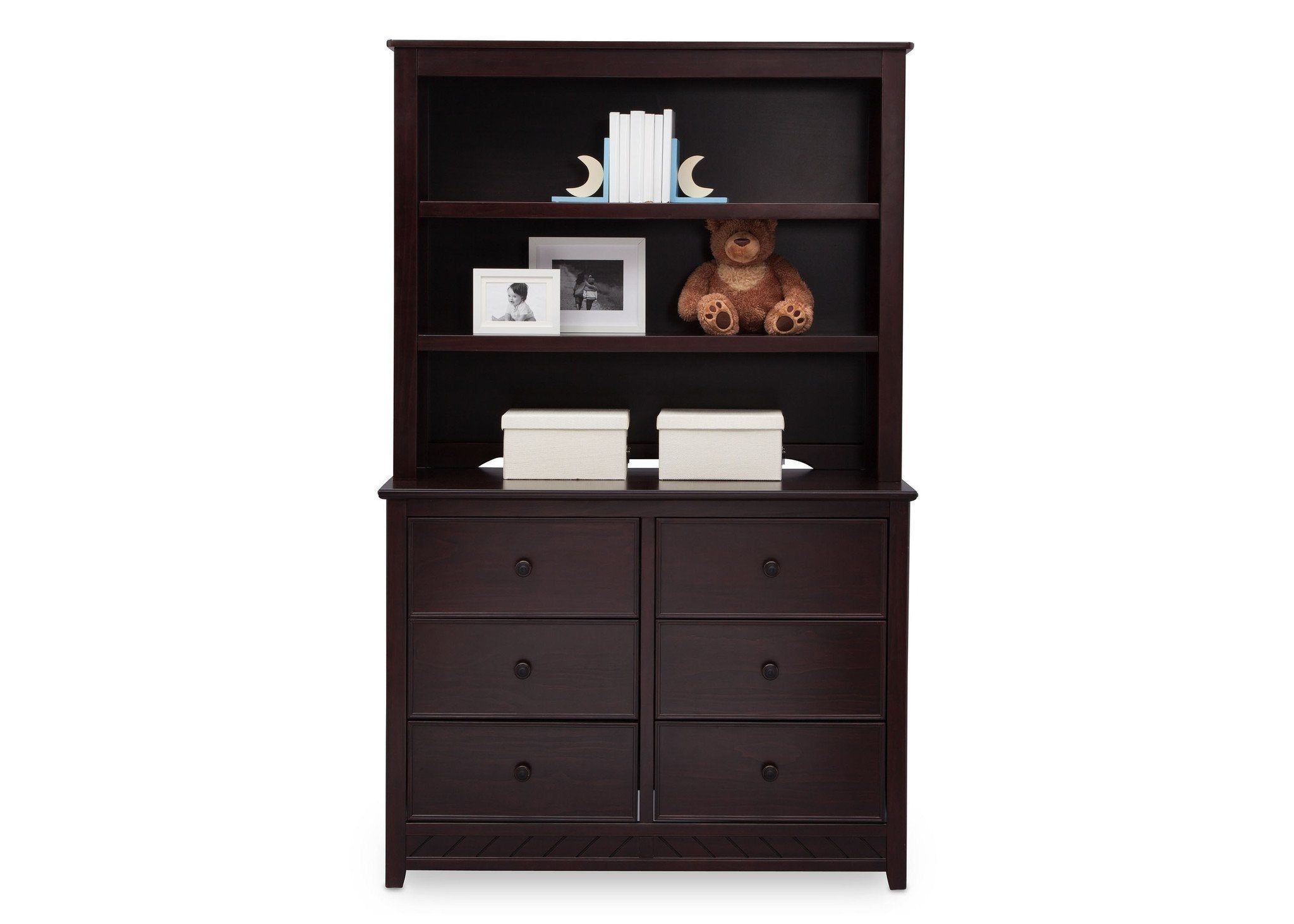 Bennington Elite Bookcase Hutch Delta Children