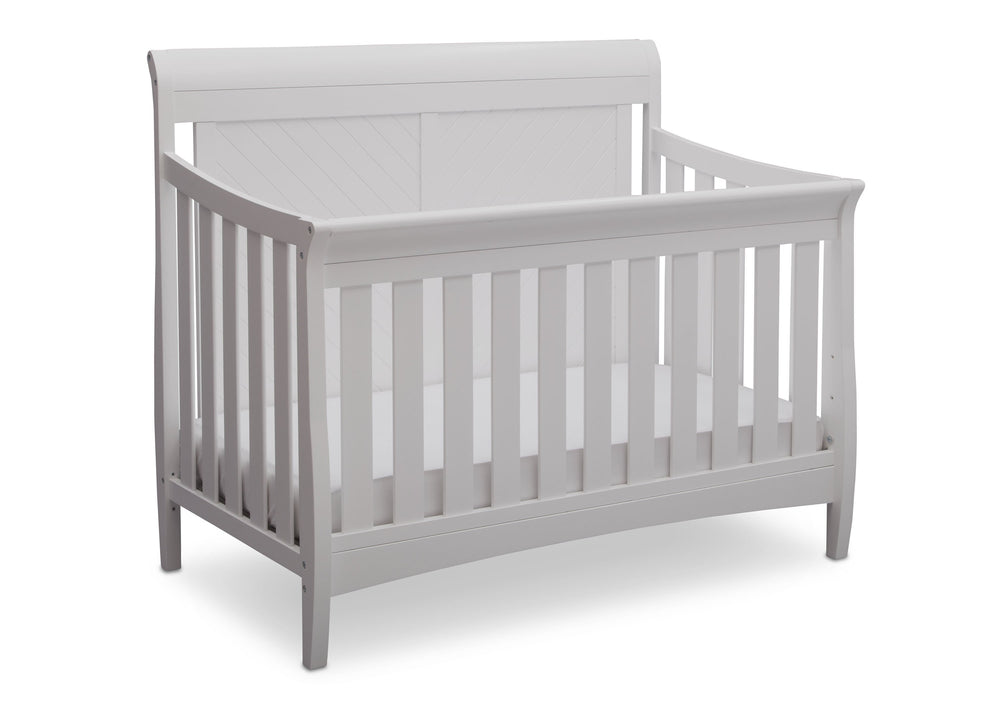 Bennington Elite Sleigh 4 In 1 Convertible Crib Delta