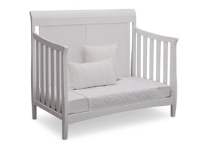 Delta Children Bianca (130) Bennington Elite Sleigh 4-in-1 Convertible Crib (550650), Day Bed, b5b
