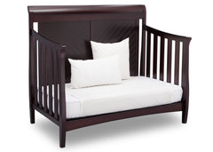 Delta Children Dark Espresso (958) Bennington Elite Sleigh 4-in-1 Convertible Crib (550650), Day Bed, c5c