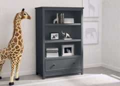 Delta Children Charcoal (029) Bennington Elite Bookcase with Drawer, Hangtag, b1b
