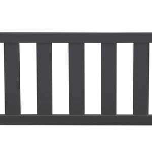 Delta Children Charcoal Grey (029) Bennington Elite Toddler Guardrail (550725), Straight, a1a