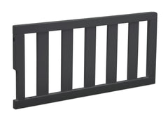 Delta Children Charcoal Grey (029) Bennington Elite Toddler Guardrail (550725), Right Angle, a2a