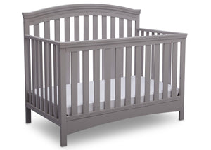 Delta Children Grey (026) Emerson 4-in-1 Crib, Front Crib View a4a