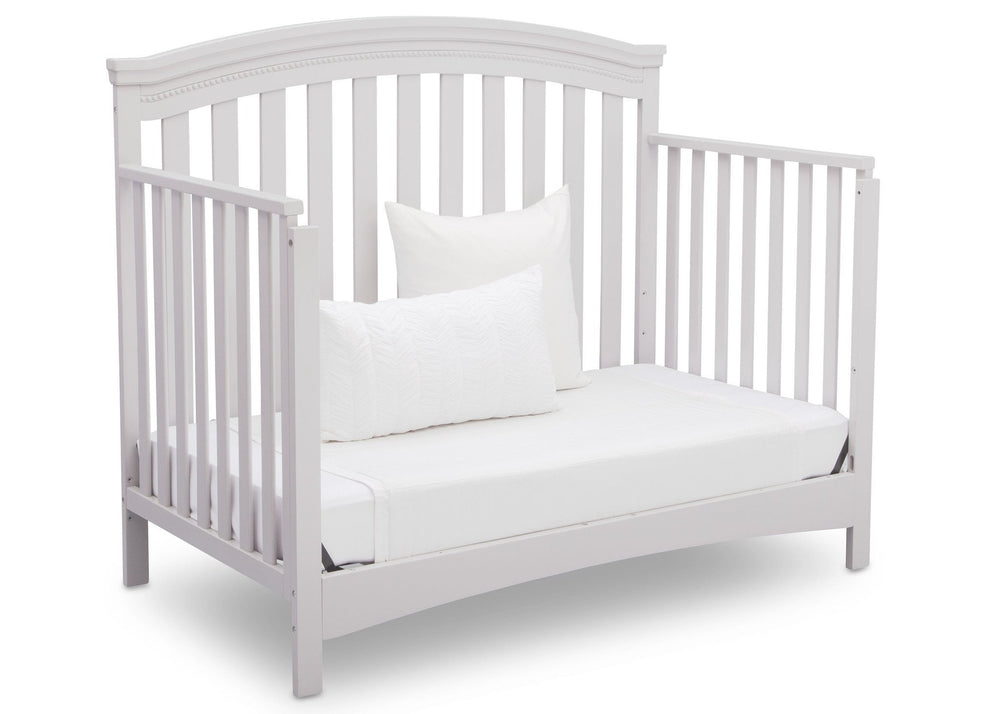Delta Children Bianca (130) Emerson 4-in-1 Crib, Angled Daybed a6a