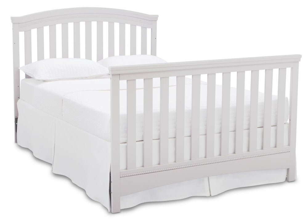 Delta Children Bianca (130) Emerson 4-in-1 Crib, Full Size Bed a7a