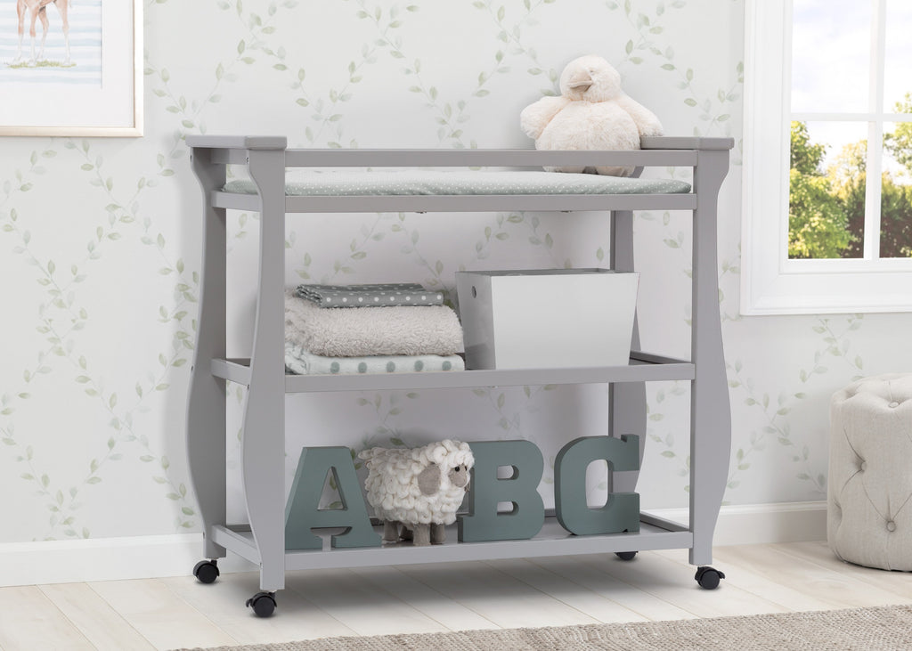 audrey changing table products elm drawer west c