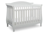 Delta Children Bianca White (130) Lancaster 4-in-1 Convertible Crib (552150), Crib, b2b