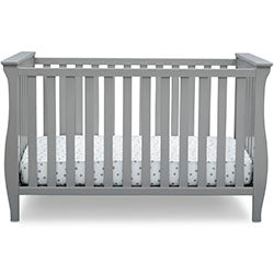 Lancaster 3-in-1 Convertible Crib (Grey)