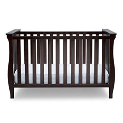 Lancaster 3-in-1 Convertible Crib (Dark Chocolate)