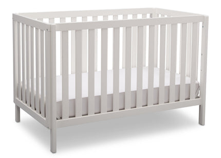 Delta Children Bianca (130) Milo 3-in-1 Crib, Angled View, b3b