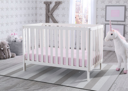 Delta Children Bianca (130) Milo 3-in-1 Crib, Hangtag, b1b