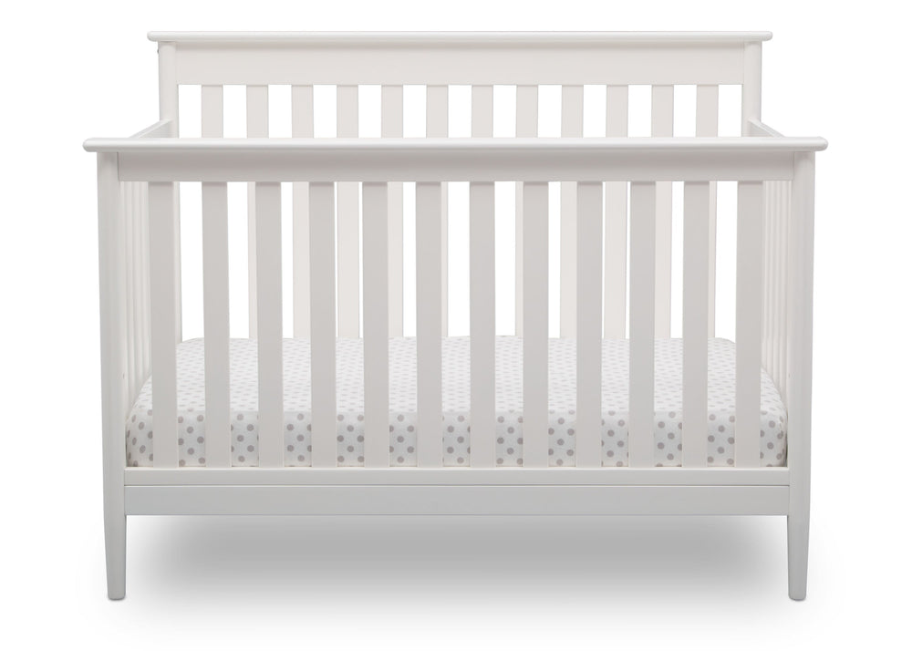 Delta Children Bianca (130) Greyson Signature 4-in-1 Crib, front view, b2b