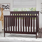 Greyson Signature 4-in-1 Convertible Crib (Dark Chocolate)