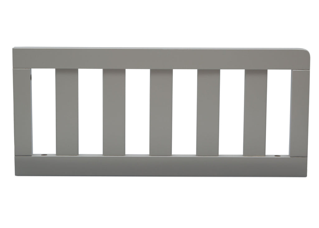 Delta Children Grey (026) Toddler Guardrail (553727) Front View a10a for Greyson Signature 4-in-1 Convertible Crib