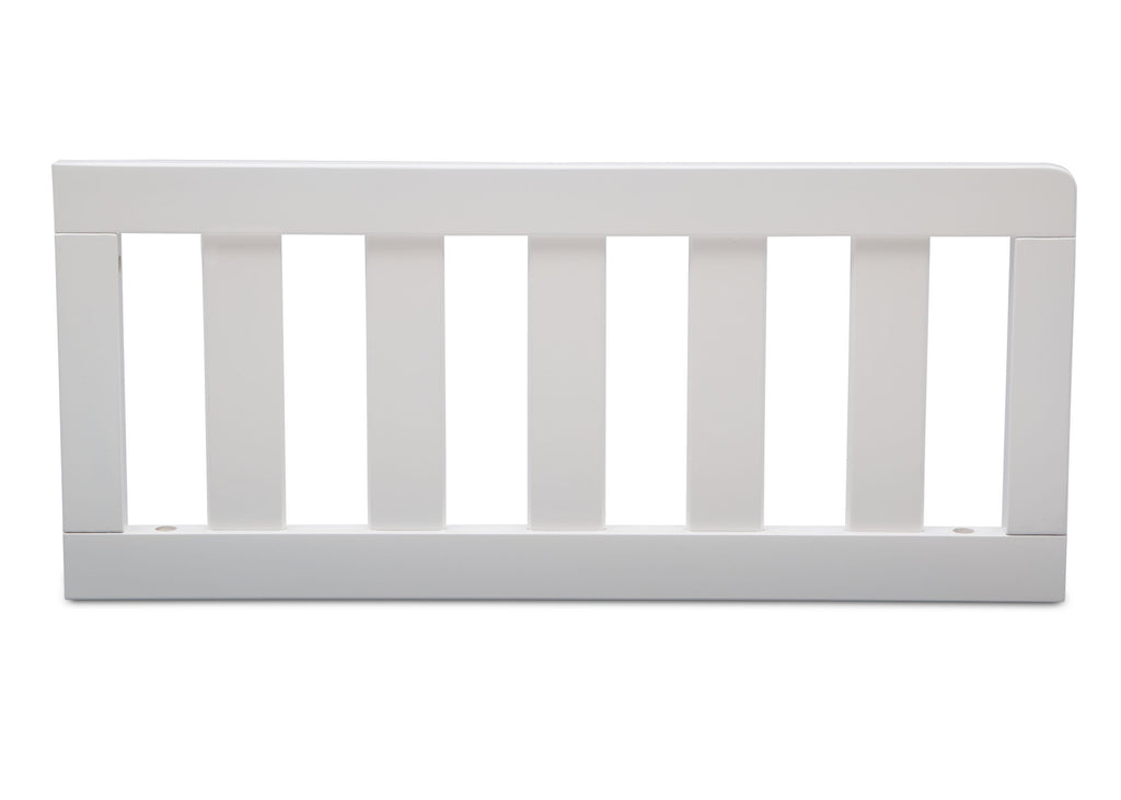 Delta Children Bianca (130) Toddler Guardrail (553727), Front View b0b for Greyson Signature 4-in-1 Convertible Crib