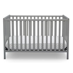 Heartland 4-in-1 Convertible Crib (Grey)