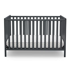 Heartland 4-in-1 Convertible Crib (Charcoal Grey)