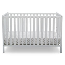 Heartland 4-in-1 Convertible Crib (Bianca White)
