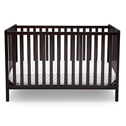 Heartland Classic 4-in-1 Convertible Crib (Dark Chocolate)