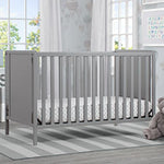 Heartland Classic 4-in-1 Convertible Crib (Grey)