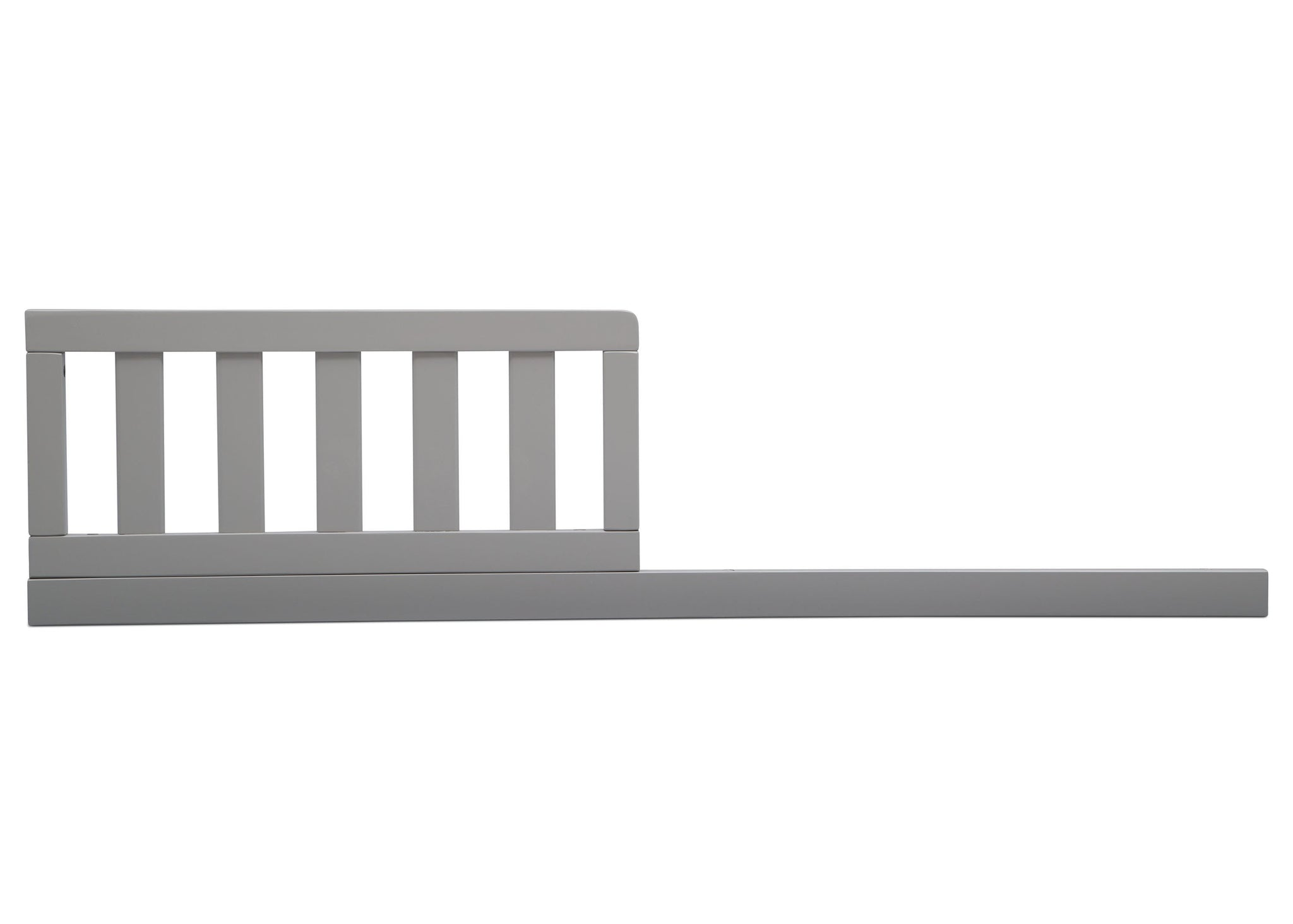 Delta Children Grey (026) Daybed/Toddler Guardrail Kit, front view d1d
