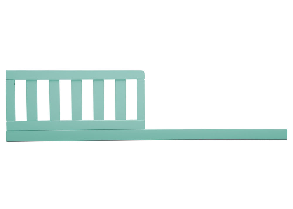 Delta Children Aqua (347) Daybed/Toddler Guardrail Kit, front view b1b
