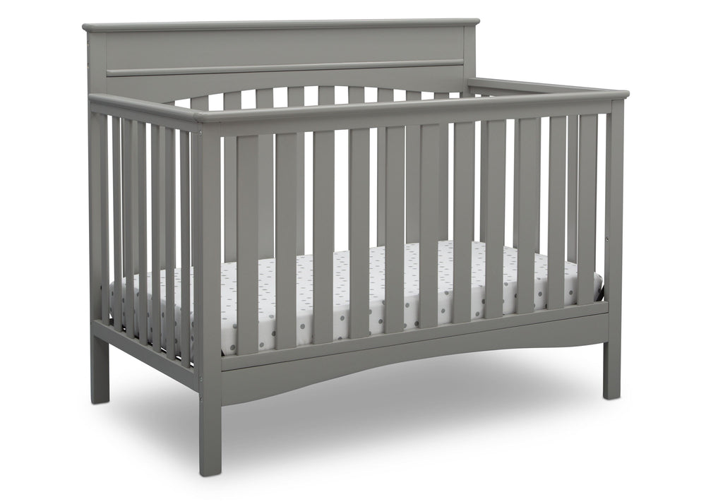 Delta Children Grey (026) Skylar 4-in-1 Convertible Crib (558150), Crib, b2b