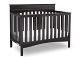 Delta Children Dark Chocolate (207) Skylar 4-in-1 Convertible Crib (558150), Crib, d2d