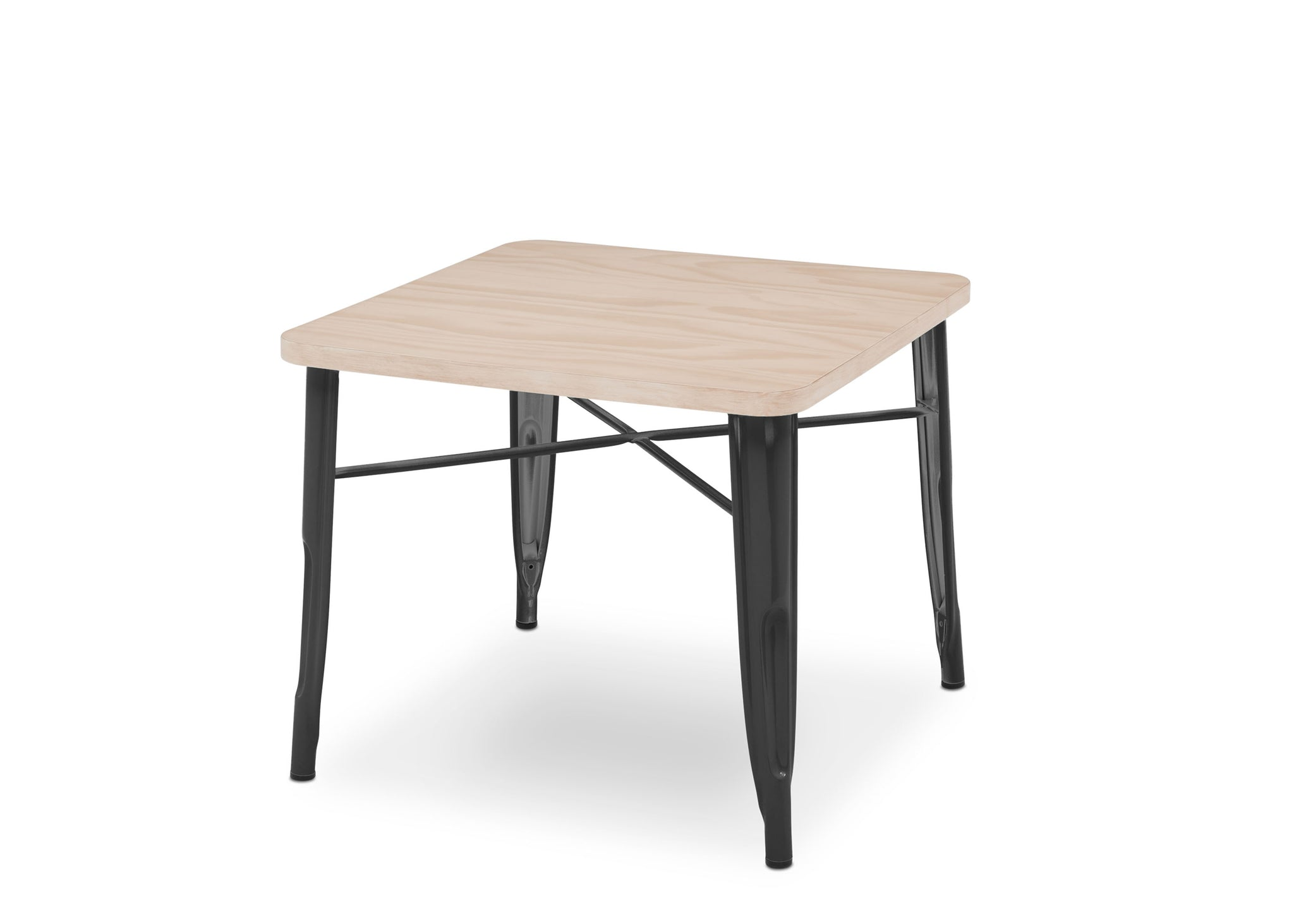 Delta Children Black with Driftwood 1312 Bistro Kids Play Table (560302), Silo a3a