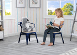 Delta Children Navy with Driftwood (1314) Bistro 2-Piece Chair Set (560301), Hangtag c1c