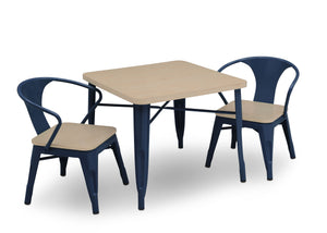 Delta Children Navy with Driftwood (1314) Bistro 2-Piece Chair Set (560301), Table and Chair View c7c