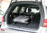 Jeep Wrangler Stroller Wagon Grey (2148), Lifestyle in Car View