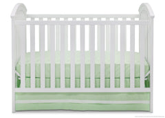 Delta Children White (100) Arbour 3-in-1 Crib a3a