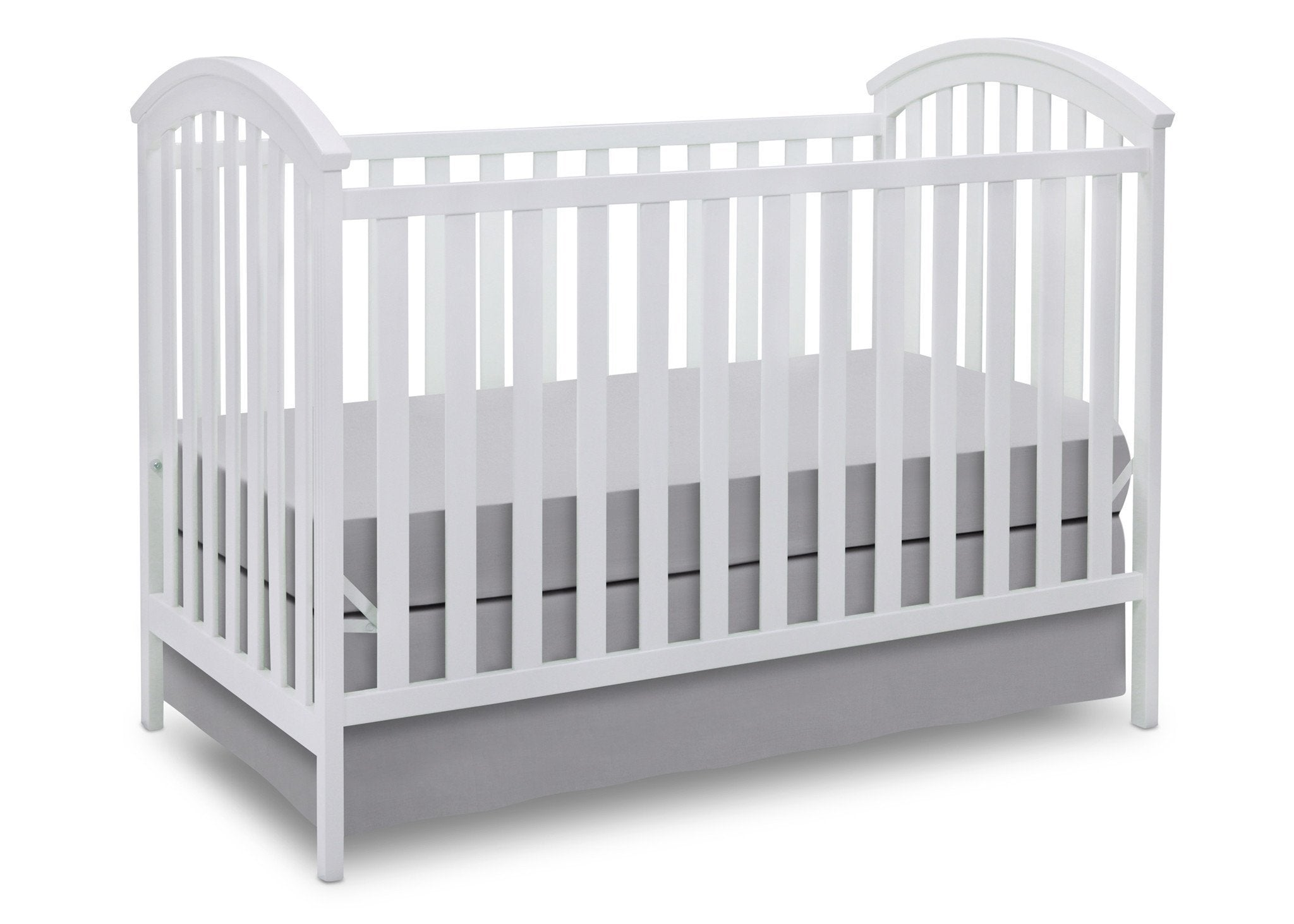 Delta Children White (100) Arbour 3-in-1 Crib a4a