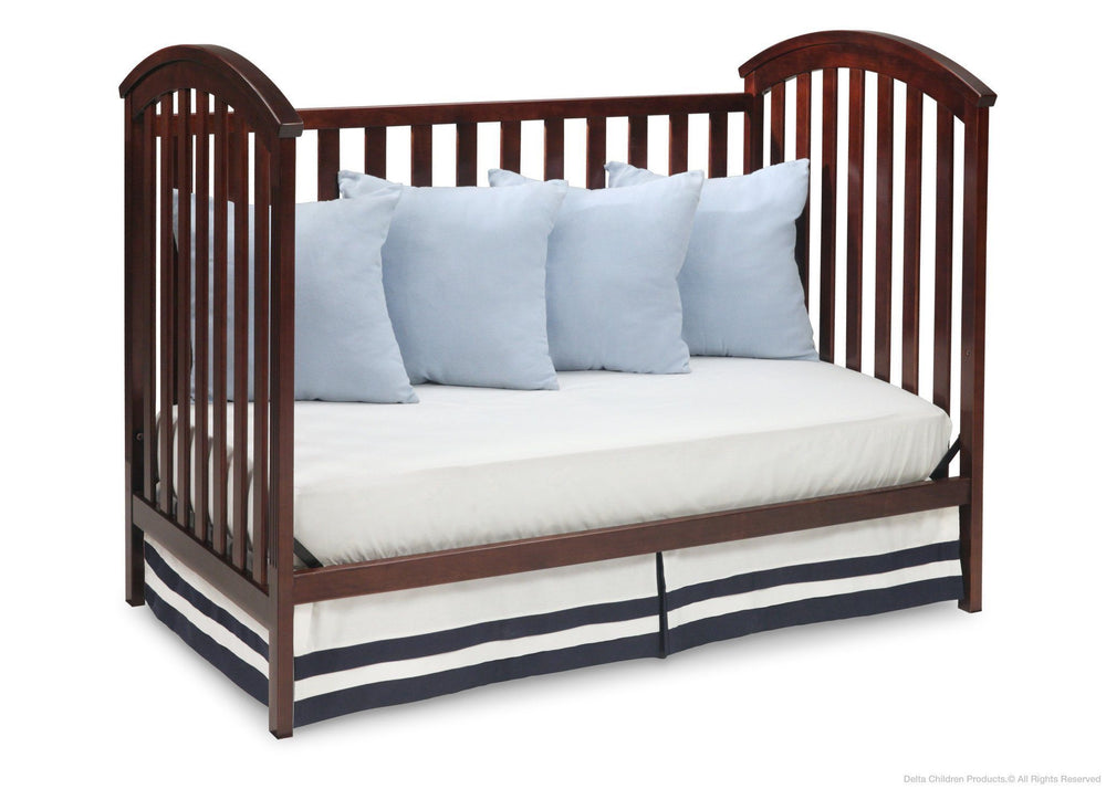 Delta Children Chocolate (204) Arbour 3-in-1 Crib Daybed Conversion b4b
