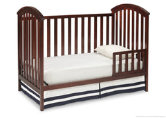 Delta Children Chocolate (204) Arbour 3-in-1 Crib Toddler Bed Conversion b3b