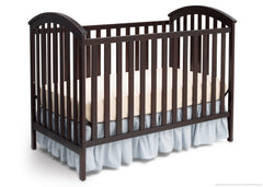 Delta Children Dark Chocolate (207) Arbour 3-in-1 side Crib c2c