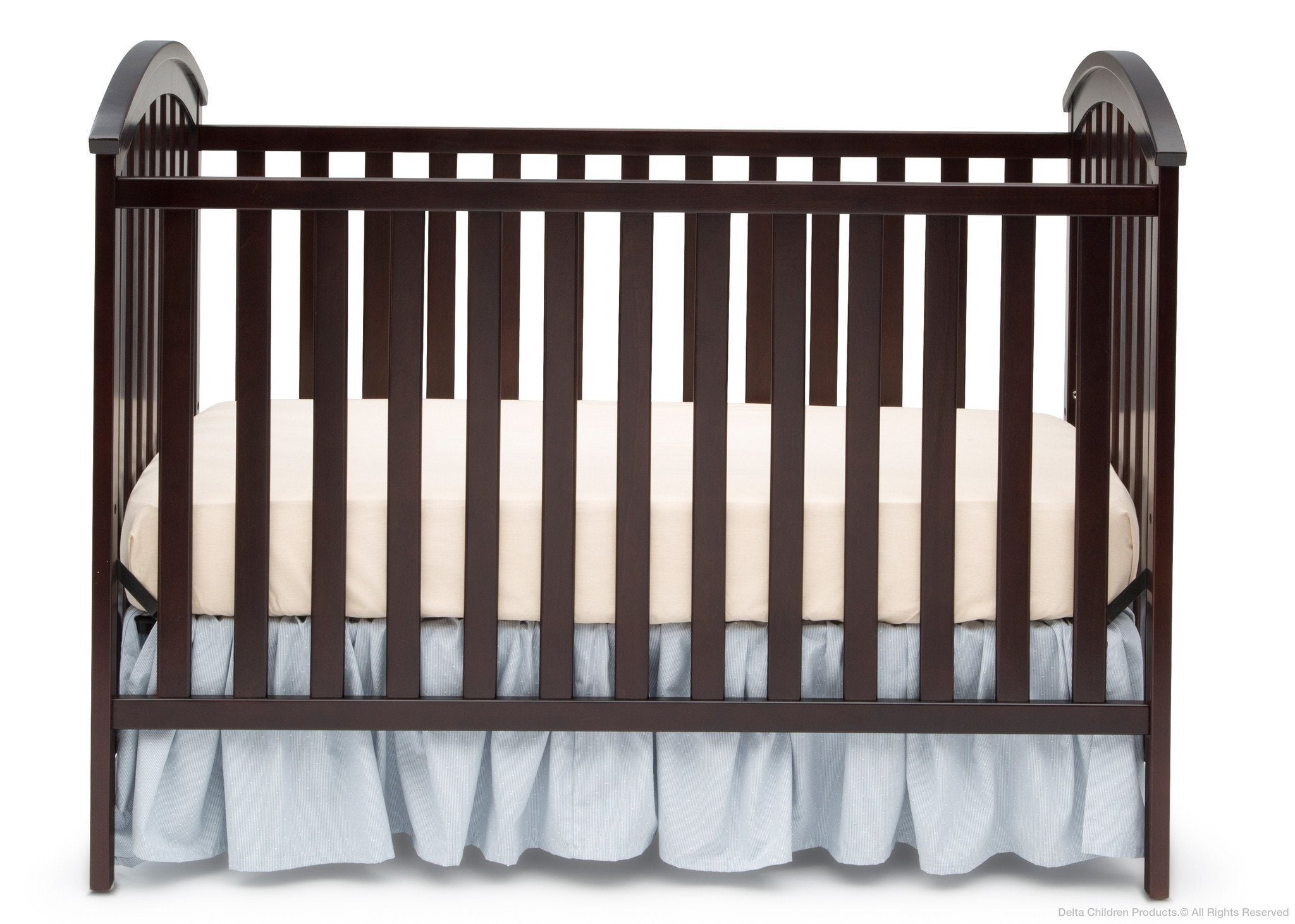 Delta Children Dark Chocolate (207) Arbour 3-in-1 Crib c1c