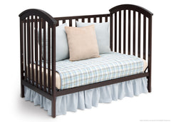 Delta Children Dark Chocolate (207) Arbour 3-in-1 Crib Daybed Conversion c4c